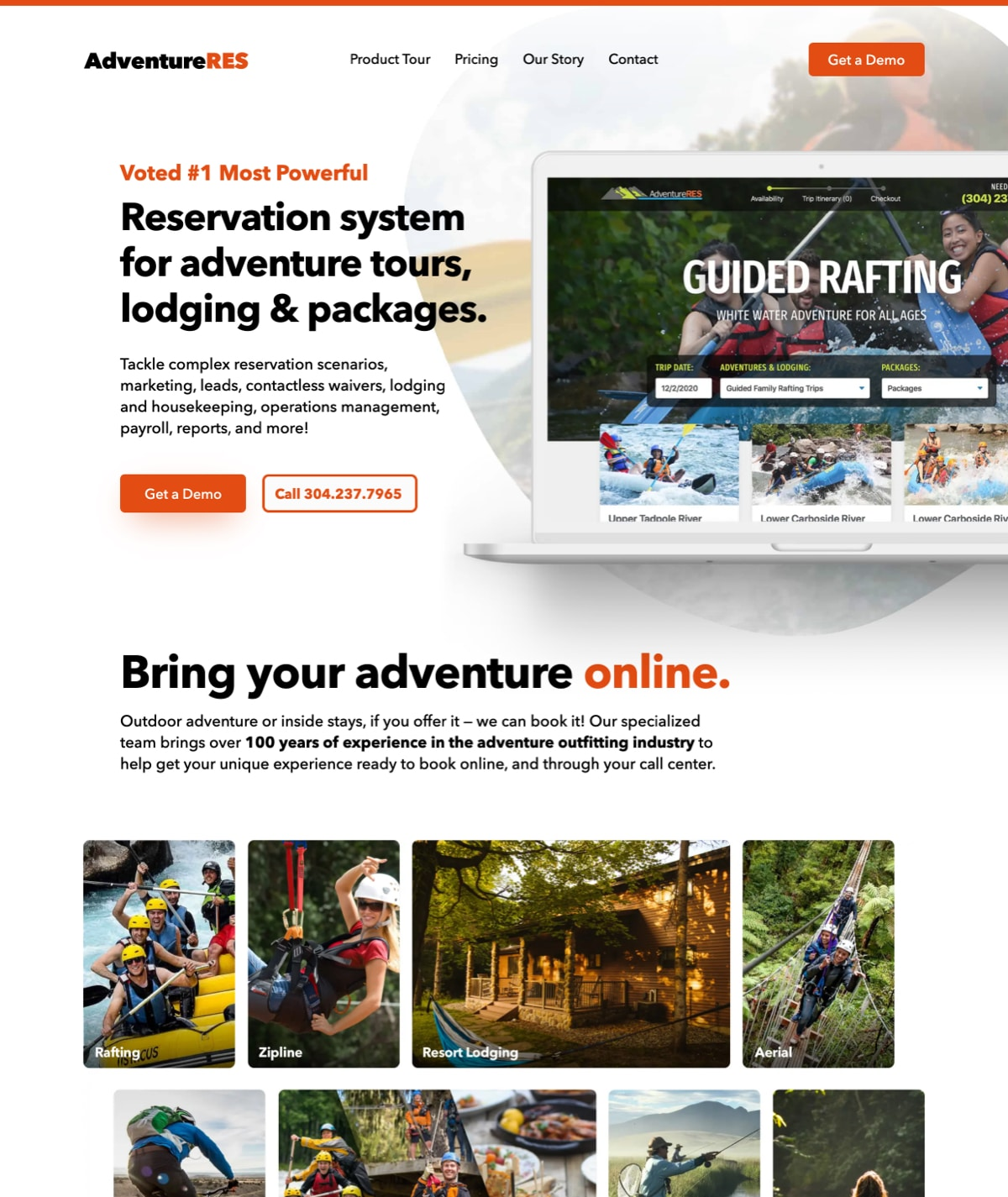Boise web design - AdventureRES