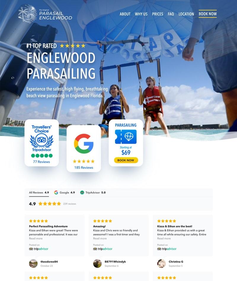 Boise web design - Parasail Englewood